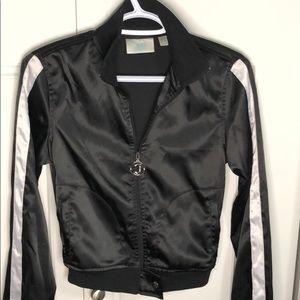 JLO by Jennifer Lopez  jacket in shinny satin